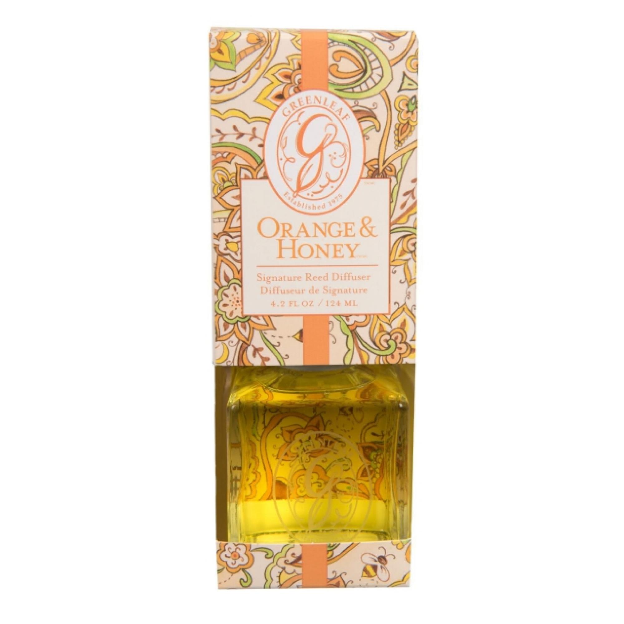 Аромадиффузор Greenleaf Orange and Honey Апельсин и Мед 124 мл (GL978471S