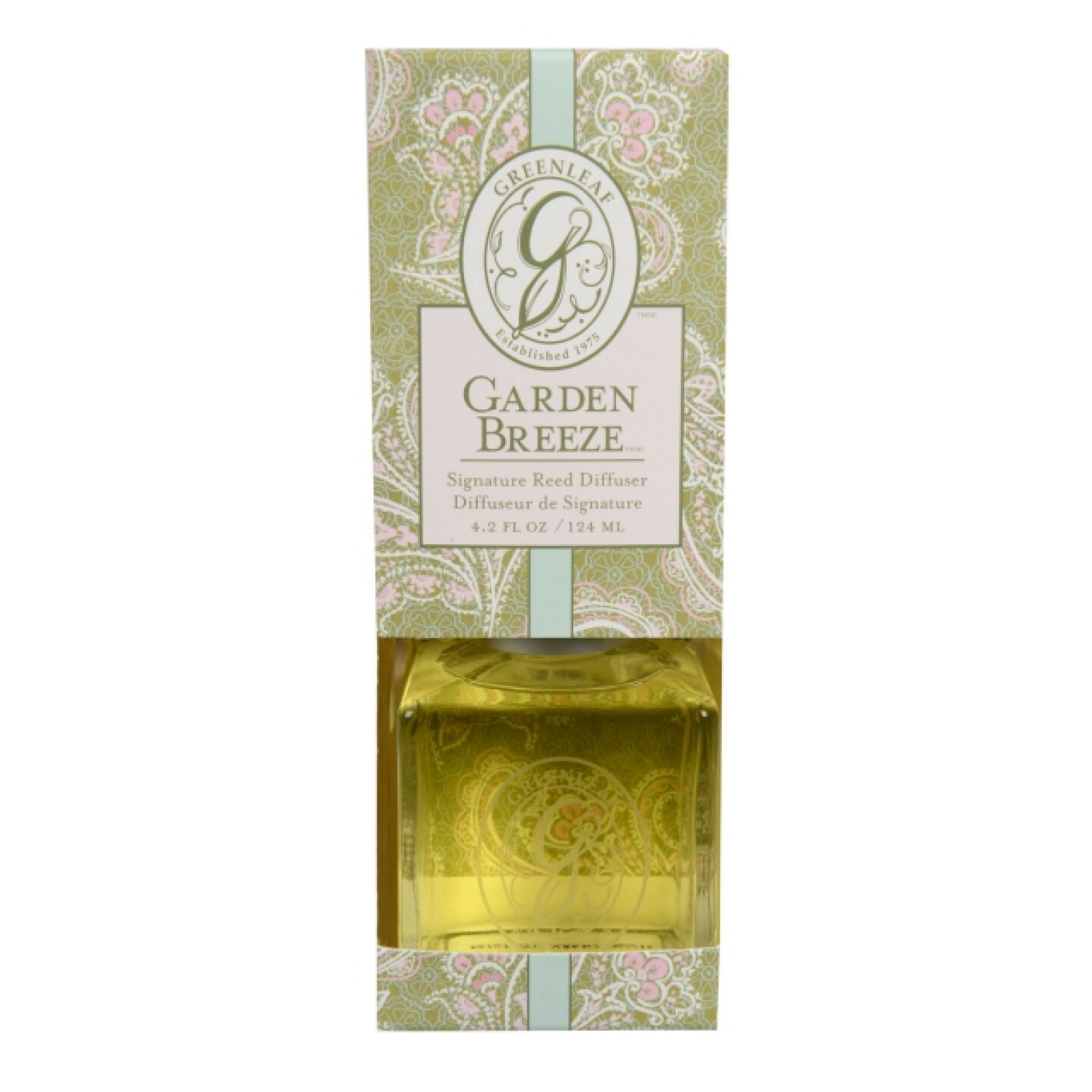 Аромадиффузор Greenleaf Garden Breeze Запах Сада 124 мл (GL978482)