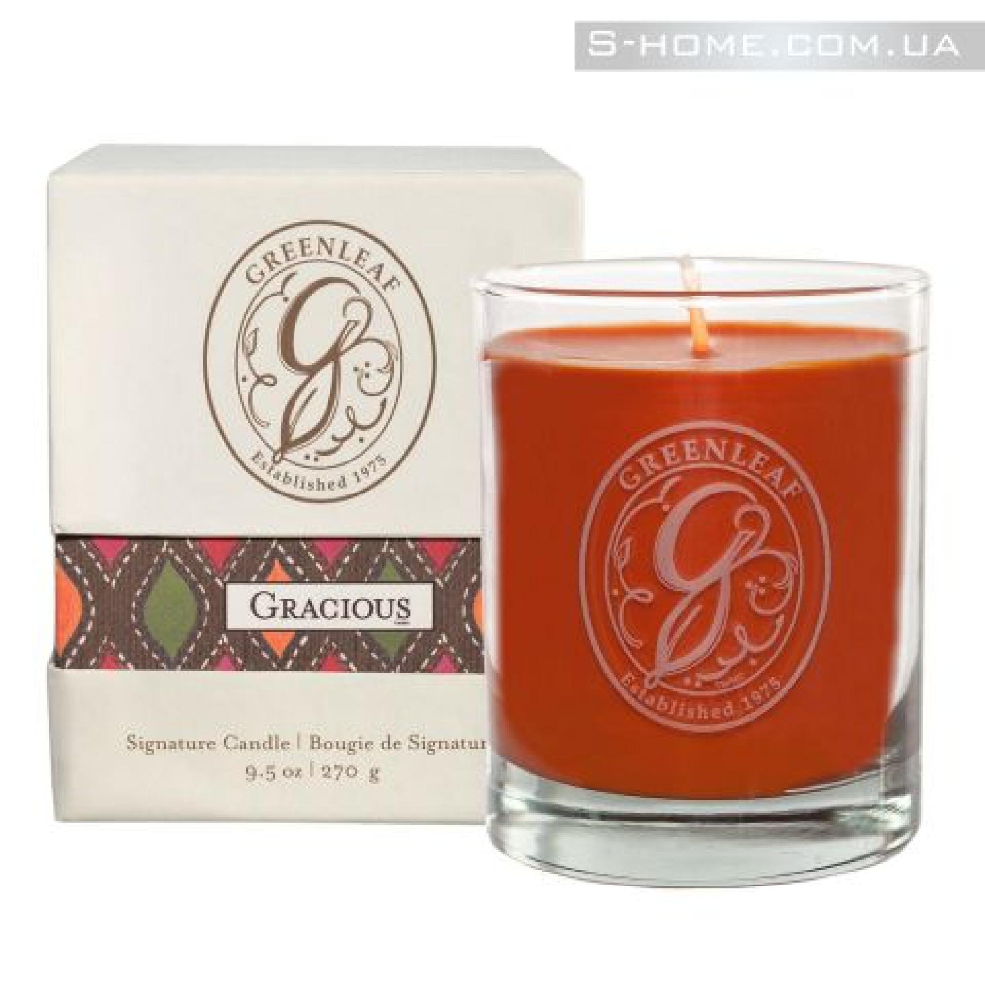 Купить ароматические свечи Greenleaf Грация