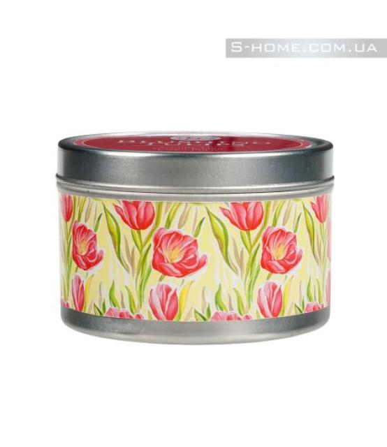 Свеча Greenleaf в табакерке Цветущие Тюльпаны
