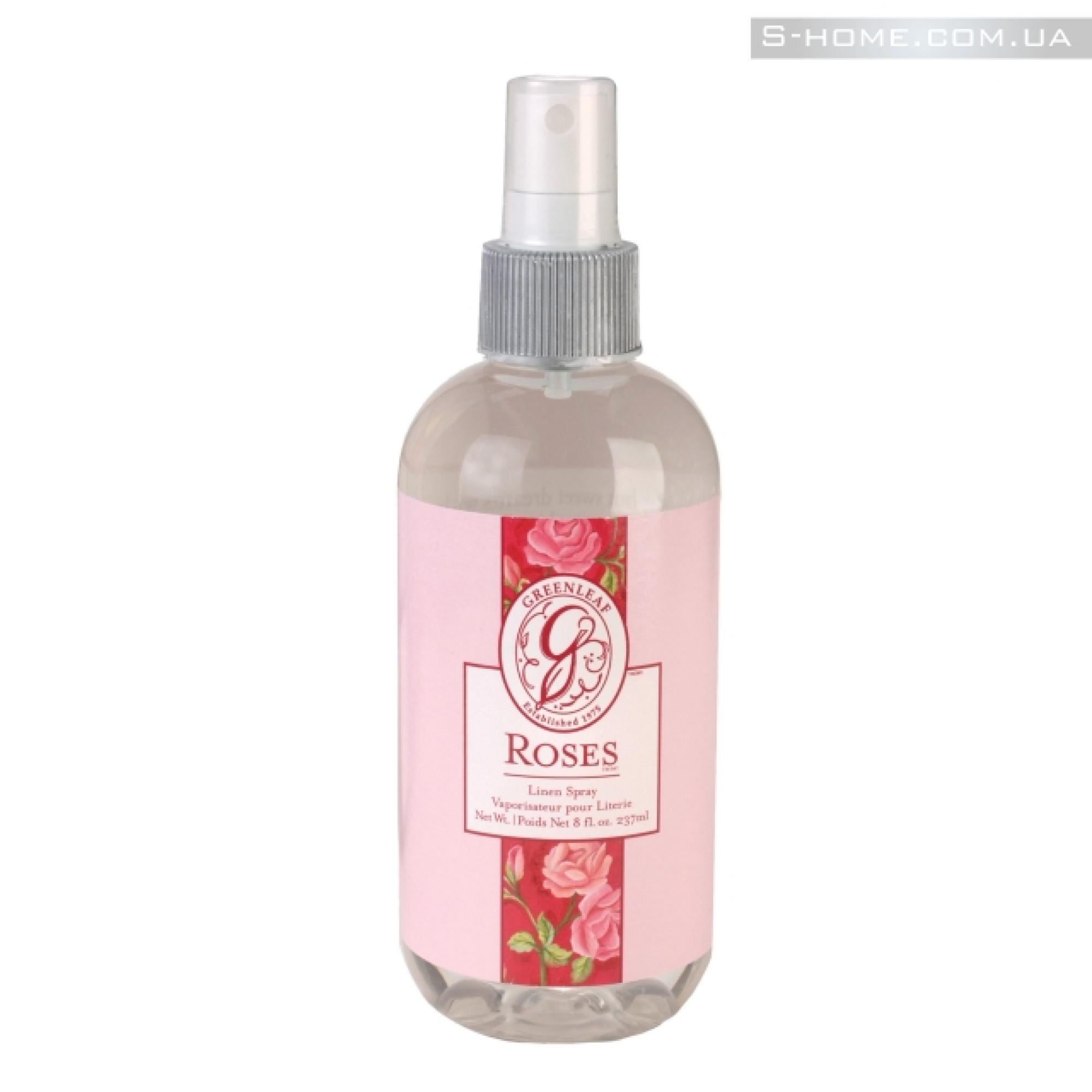 Ароматический спрей для постельного белья Greenleaf Розы (Roses)