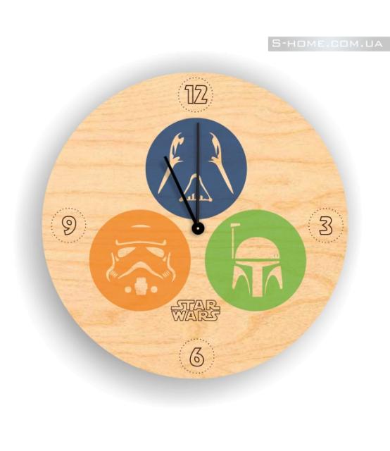 Часы настенные Звездные Войны S-interiors Star Wars 8