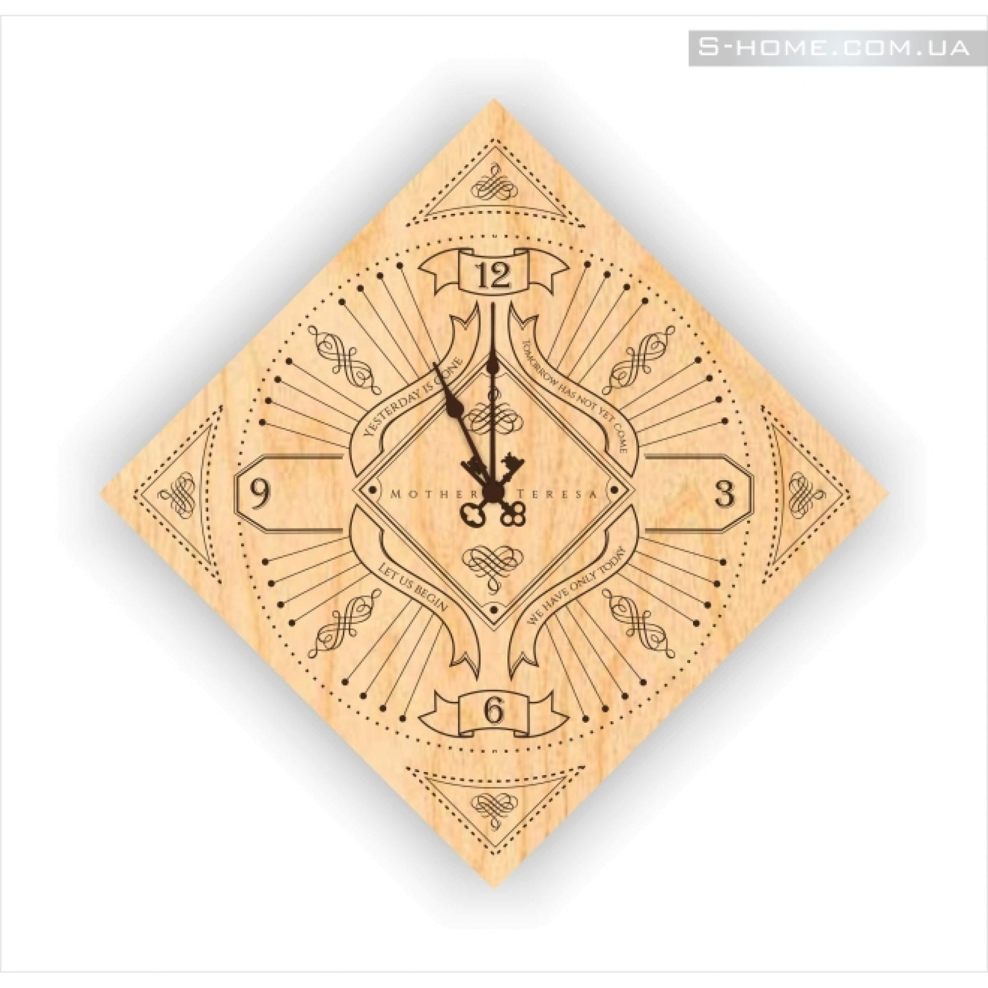 Дизайнерские часы настенные S-Interiors Mother Teresa 2