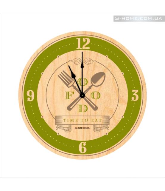 Часы настенные на кухню S-Interiors Cuchina 2