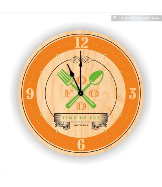 Часы для кухни настенные S-Interiors Cuchina 4