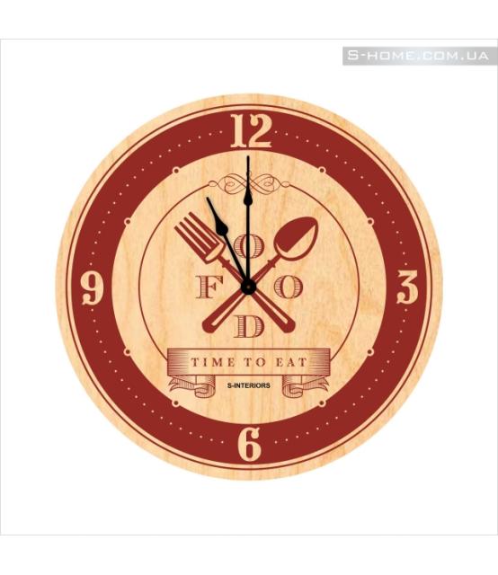 Оригинальные часы на кухню S-Interiors Cuchina 5