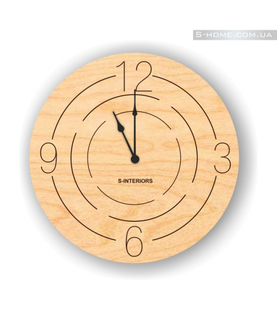 Интерьерные настенные часы  S-Interiors Rounds