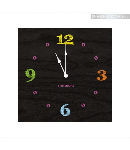 Часы в детскую S-Interiors Chalk 3