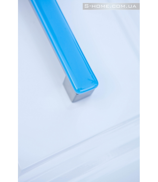 Меблева ручка Бірюзова ручка для меблів веницианского скло S-interiors Murano Turchese