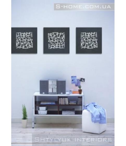 Картина настінний декор S-Interiors Bianco Linea