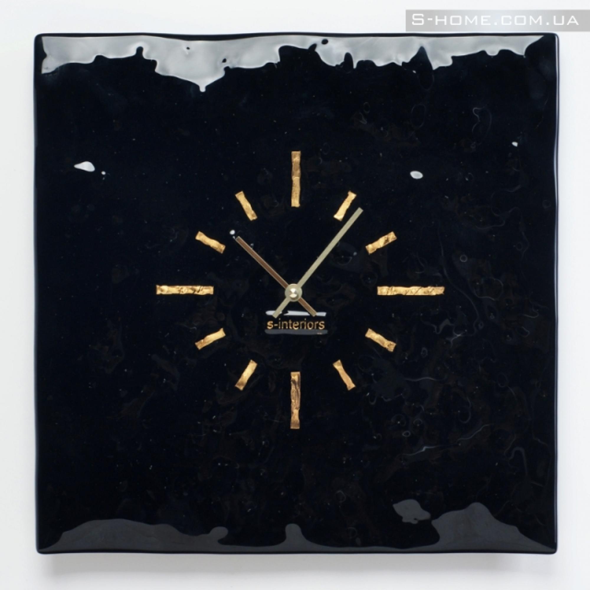 Настінний годинник зі скла S-interiors Terra S