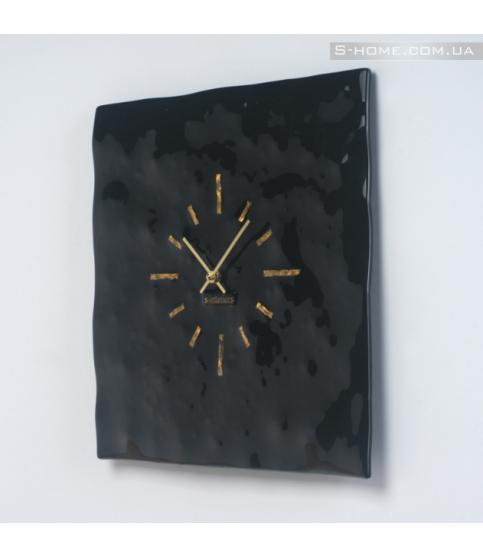 Настеннные часы из стекла S-interiors Terra S