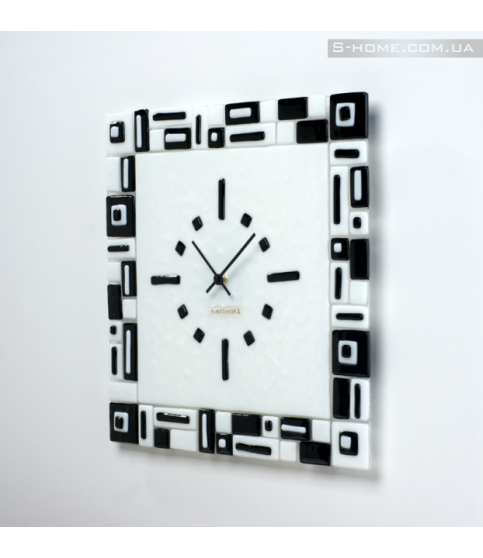 Настінний годинник в офіс S-interiors Domino