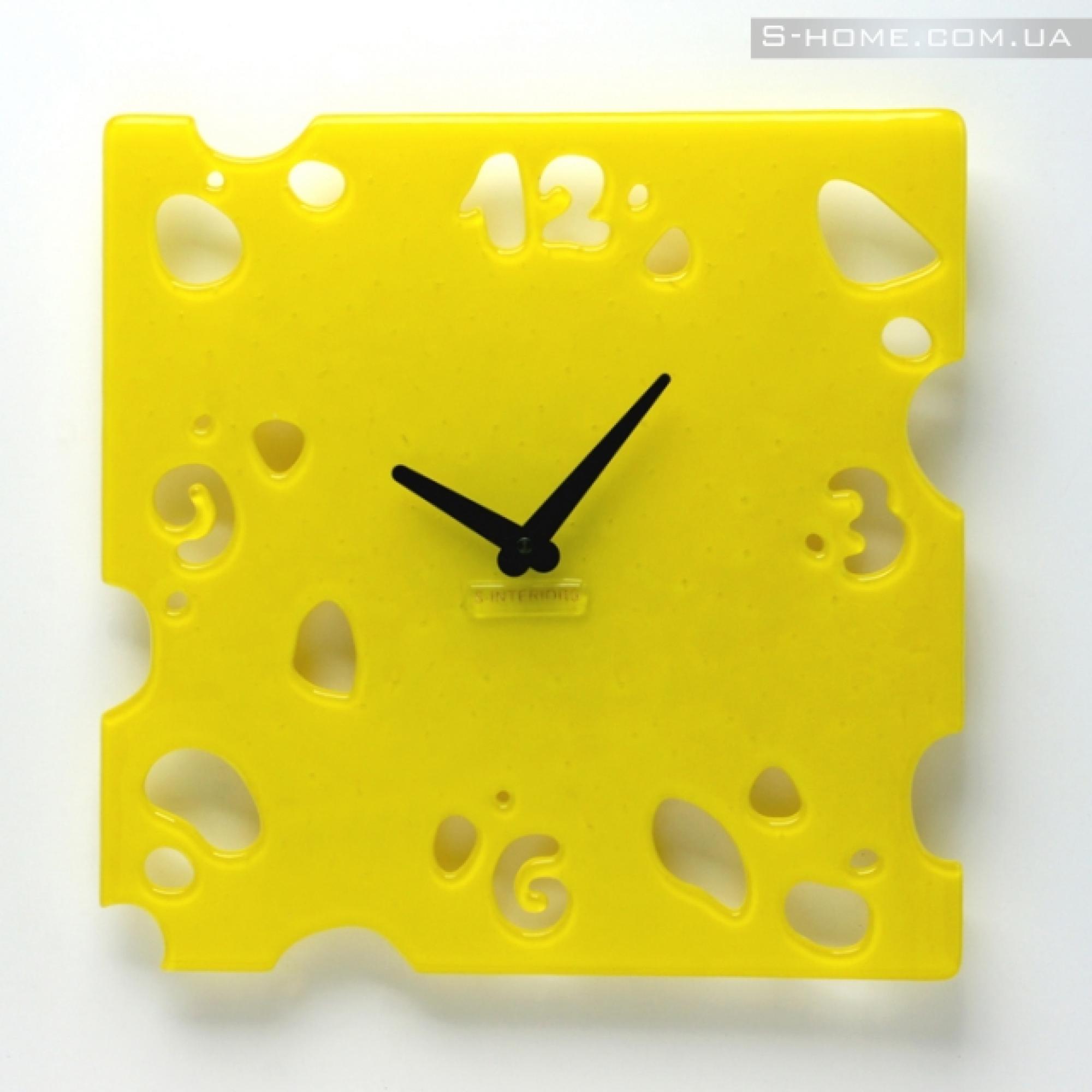 Настінний годинник в кухню S-interiors Formaggio