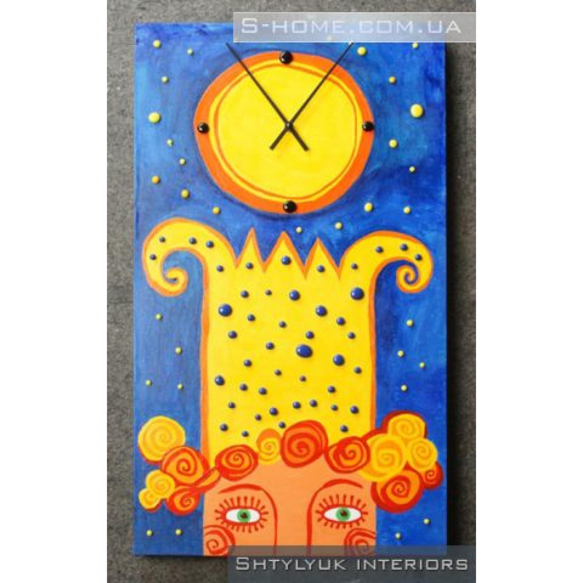 """Детские часы настенные часы """"Кайзер"""""""