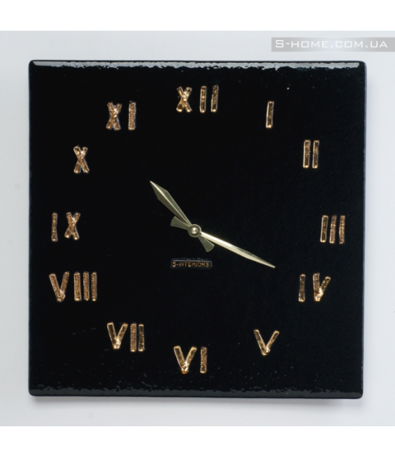 Настінний годинник фьюзинг S-interiors Oro Roma