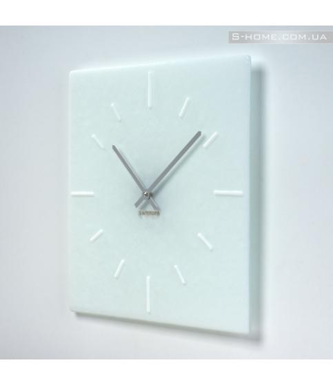 Білий настінний годинник S-Interiors Сomplete