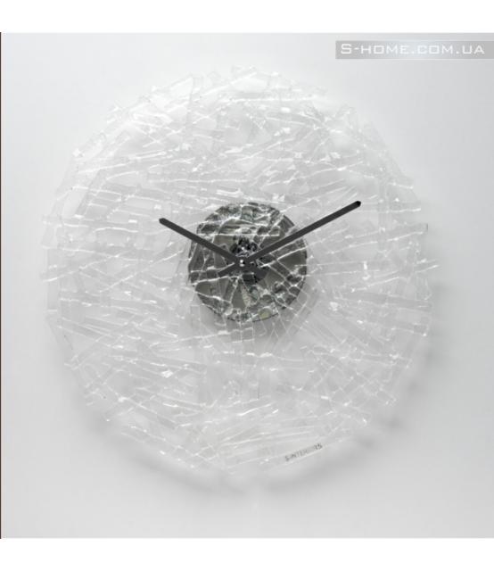 Дизайнерський настінний годинник S-Interiors Transparente Linea