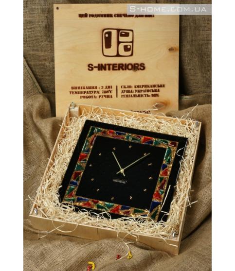 Настінний годинник із золотом S-Interiors  Antonio Сomplimento  1