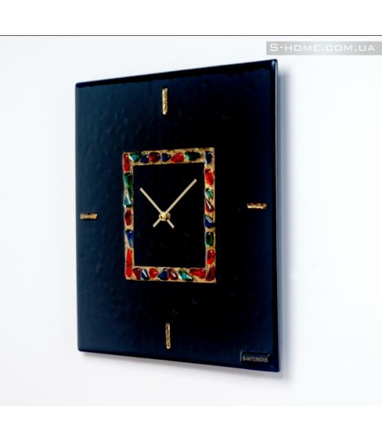 Дизайнерские настенные часы из муранского стекла S-Interiors  Antonio Сomplimento  2