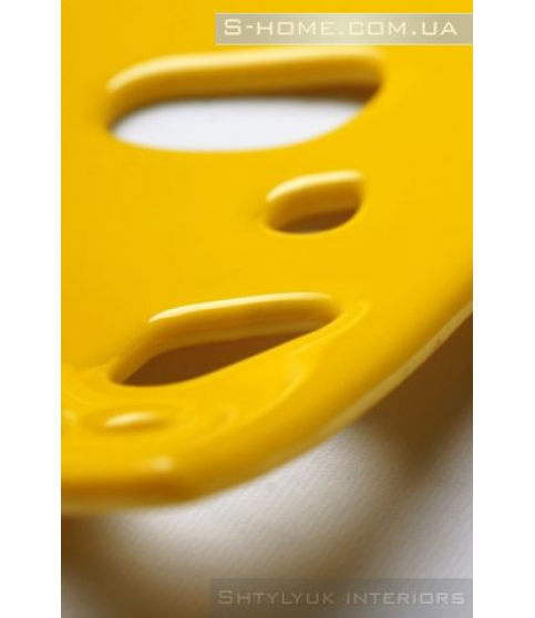 Стеклянная тарелка декор S-Interiors Cheese